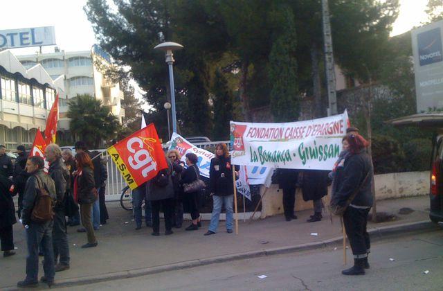 Le 7 février à Montpellier, dans le social et le médico-social, ils ont défendu leurs conventions collectives !