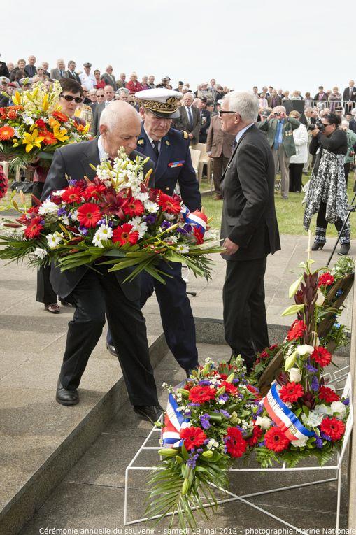 Samedi 19 mai 2012-cérémonie annuelle du souvenir à la mémoire des marins disparus entrant dans le cadre des journées de la mémoire maritime - 2ème partie
