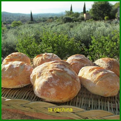 Pan Bagna inratables ( comme promis)