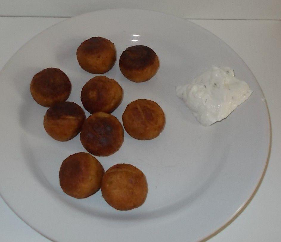 Aldi Mein Veggie Tag Vegane Falafel mit Aioli-Dip