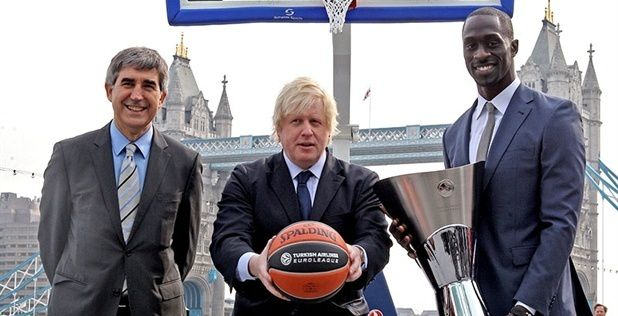 Le maire de la ville de Londres accueille le Final Four