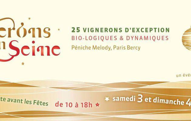 IDF Dégustation Vignerons en Seine - 3 & 4 Décembre 2016