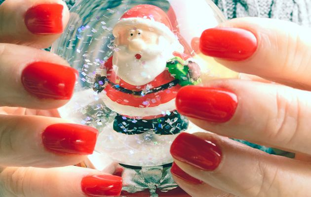 Noël en Rouge vernis à ongles permanent Onglissimo