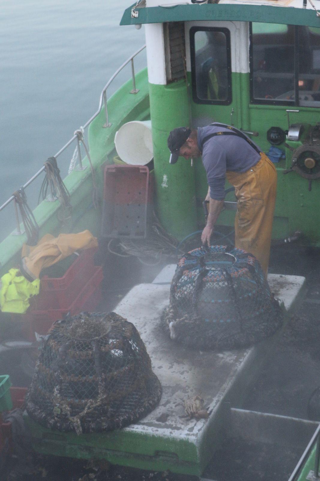 Les pêcheurs de St Vaast la Hougue