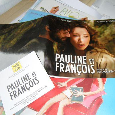 """""""PAULINE ET FRANCOIS"""" (objet promo)"""