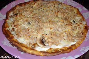 Pizza dukan au thon, un délice !!