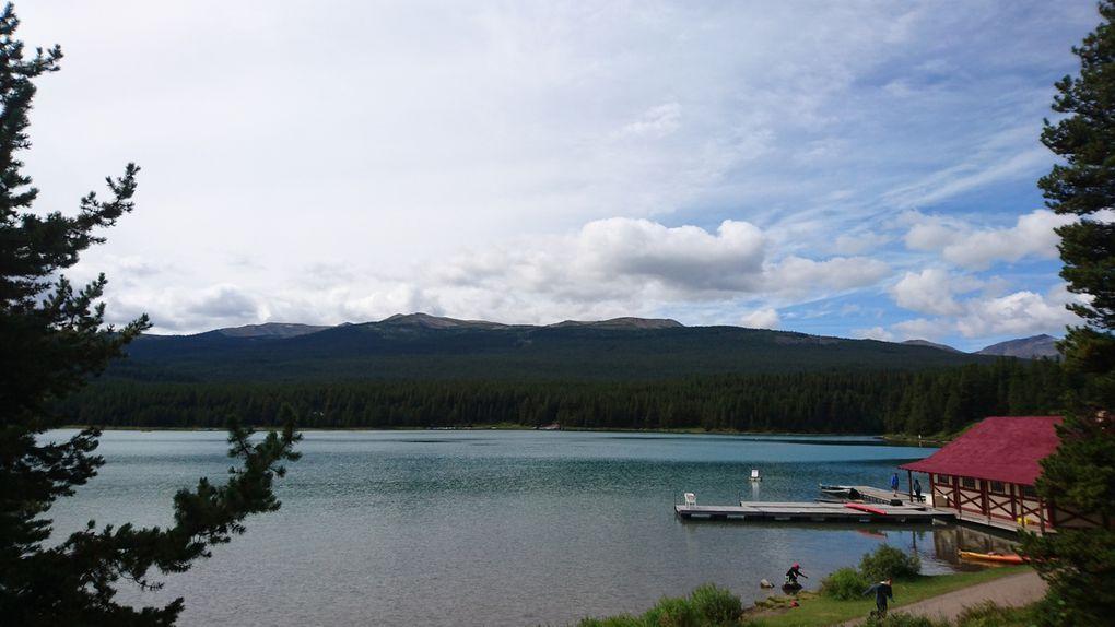 Parcs nationaux de Jasper et de Banff - 23 / 27 août 2016