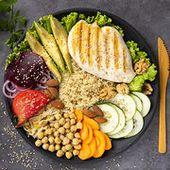 Alimentation - Une assiette plus verte que rouge