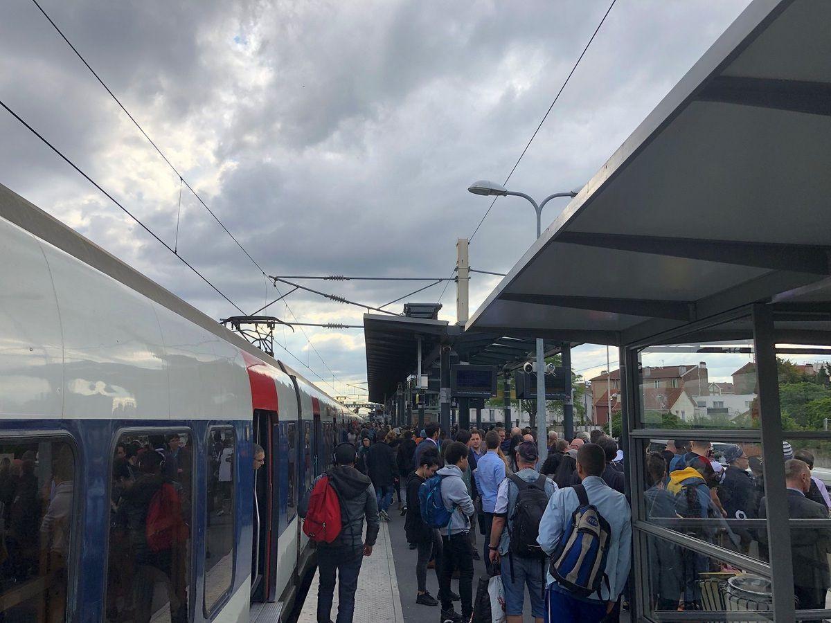 La ligne du RER B entre Aulnay-sous-Bois et Paris Gare du Nord, c'est une catastrophe !