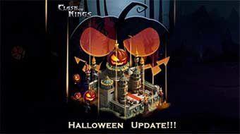 Jeux video: MAJ Clash of Kings pour Halloween : jeux gratuits #Mobiles !
