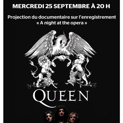 """Documentaire sur """"A night at the opera"""" de Queen"""
