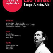 Léo Tamaki à Albi, 22 au 24 septembre