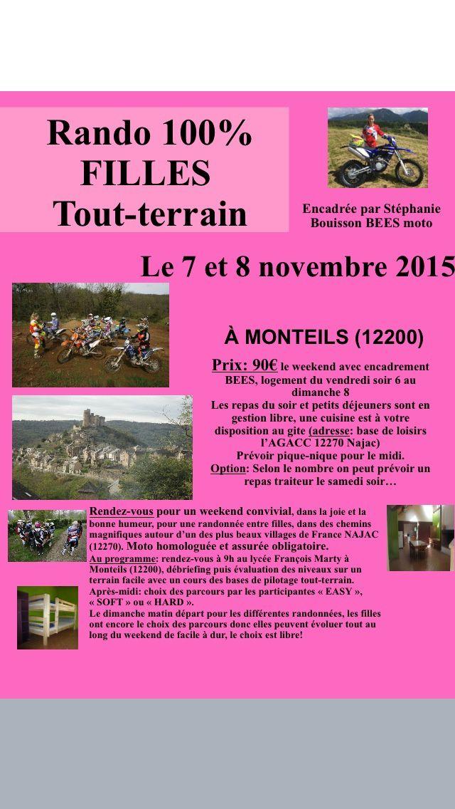 Rando 100% filles le 7 et 8 novembre 2015 à Monteils (12)