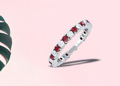 Ruby Jewelry for Engagement and Wedding