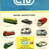 CATALOGUE C.I.J 1956 - car-collector.net