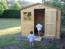 La cabane de mes garçons