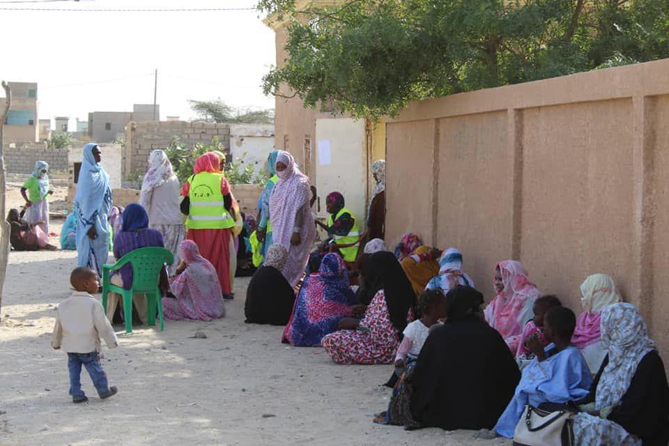 Portes ouvertes organisées par l'association Taghadoum, les 27 et 28 janvier 2020, successivement dans deux cliniques de la commune de Riyad, à Nouakchott en Mauritanie (Crédit photo © Taghadoum).