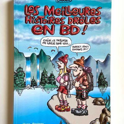 Livre «Les meilleures histoires drôles en BD» de Carali, ed. Hugo Desinge 2013