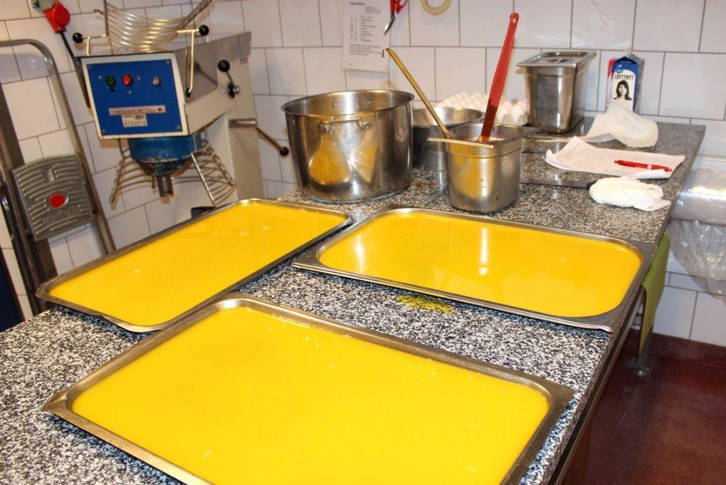 Preparation d'un repas en finlande