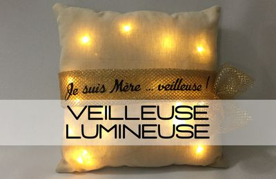 Tuto Coussin Veilleuse LED
