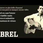 Jacques Brel - Quand on a que l'amour (Paroles)