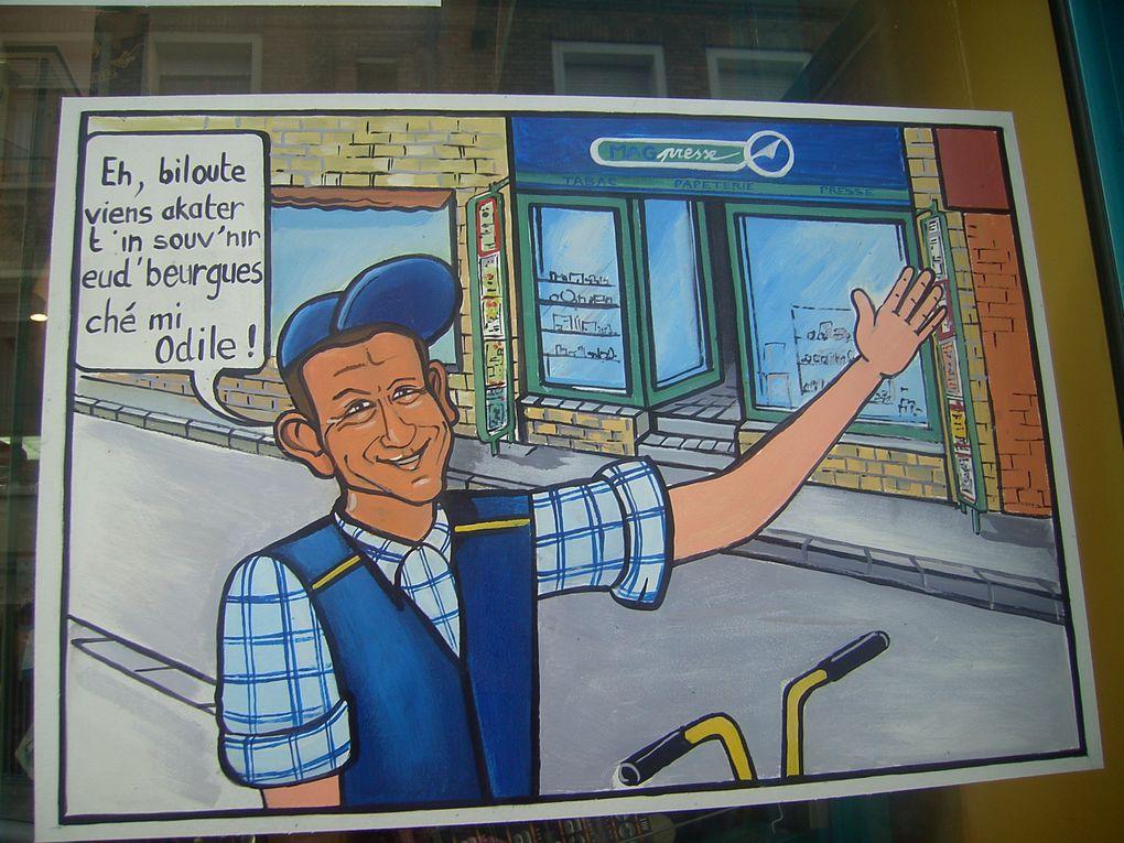 """Une Ballade à Bergues. Ville du Nord à 10 kms de Dunkerque où fût tourné le film de Danny Boon """"Bienvenue chez les ch'tis"""""""