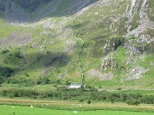 Et pour ressortir du Pays de Galles, toujours ces paysages de montagne. Comme nous l'avions dit une vraie ressemblance avec le Massif Central.