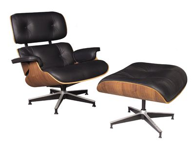 Eames Lounge Chair (1956) by Charles et Ray Eames