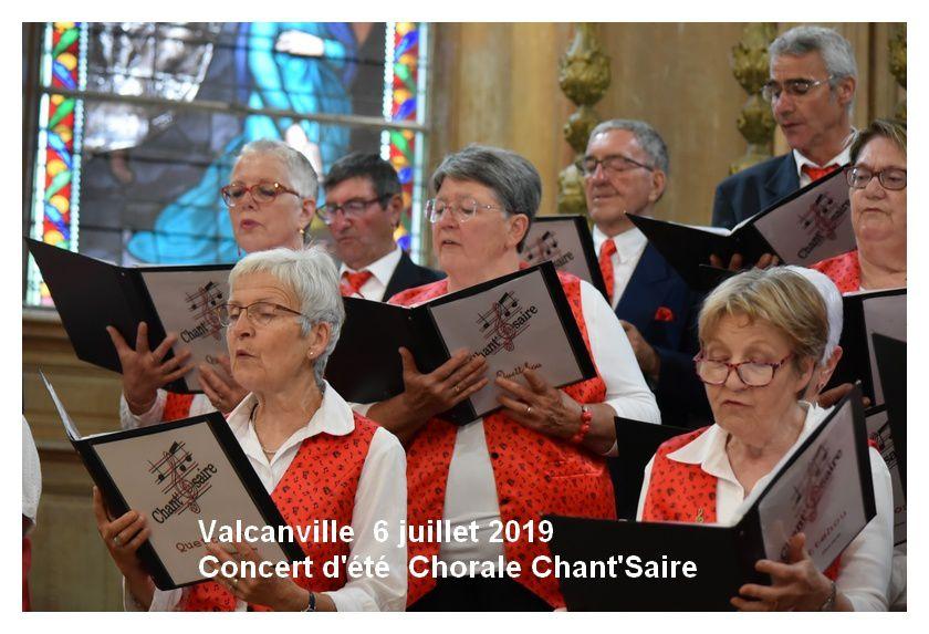 Valcanville : concert d'été de la chorale Chant'Saire