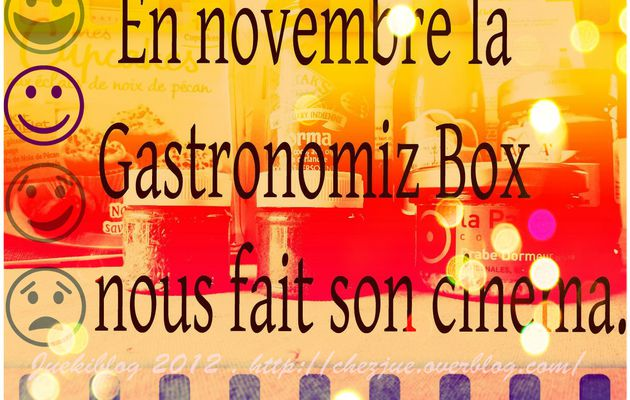 La Gastronomiz box de novembre...