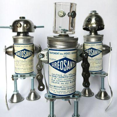 Assemblage robot, spécial chaude-pisse.