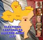 Cantonales 2011 ... Auxerre-Nord
