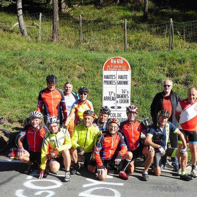 Traversée des Pyrénées à vélo, 5 Septembre, Loudenvielle – Fos