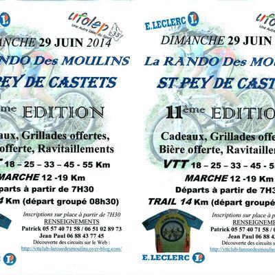 ROUE DES MOULINS VTT 29 juin 2014