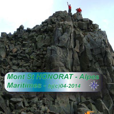 CRETES du SAINT HONORAT sous l'orage - haut VAR - Alpes Maritimes