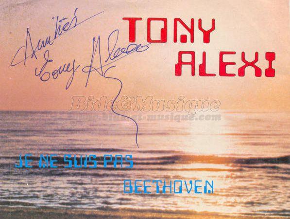 """Tony alexi, un chanteur belge des années 1970 et 1980 dont on retient le titre """"je ne suis pas beethoven"""""""