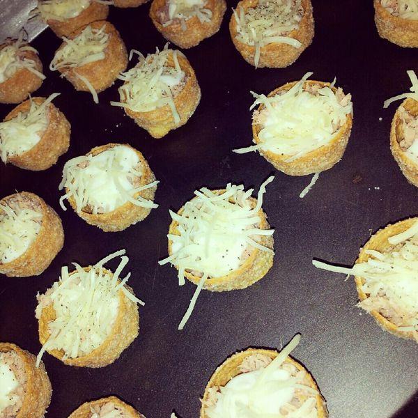 Mini croustillants au thon