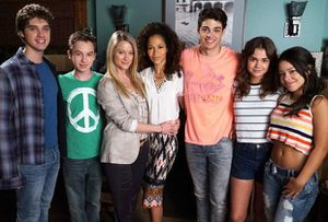 "série gay ""The Fosters"" saison 4"