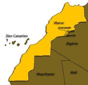 INFORMATIONS GENERALE SUR LE MAROC, CARTE D'IDENTITE DU MAROC