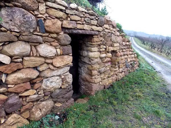Abri de pierre sèche, Mont National, Obernai