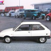 CITROEN AXEL 1.2 TRS 1985 PEINTURE BLANCHE 1/43 UNIVERSAL HOBBIES - car-collector.net