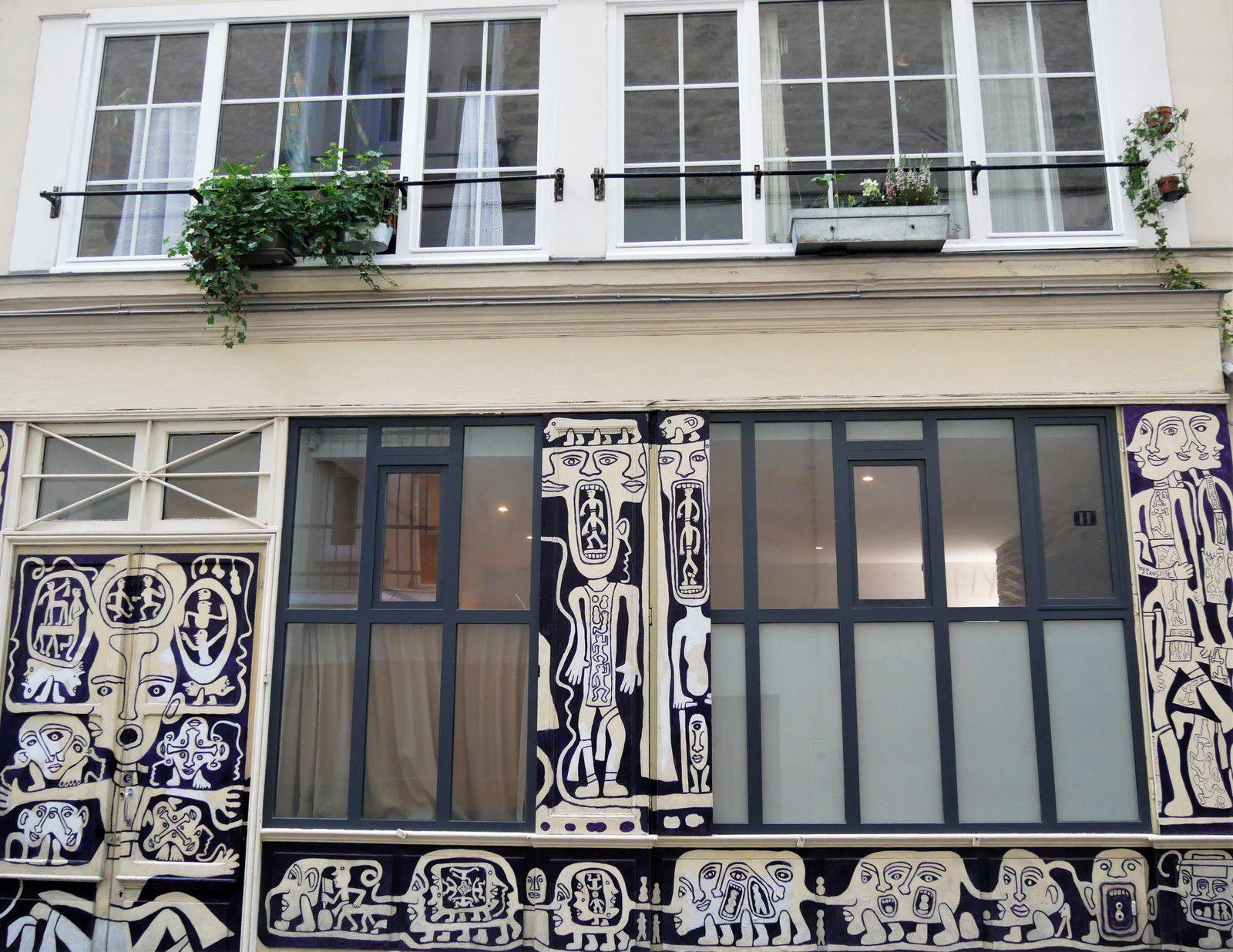Rue de l'agent Bailly. Atelier d'Yvon Taillandier.