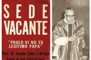 Dénonciation de l'Eglise montinienne par le R.P. Joaquin Saenz y Arriaga