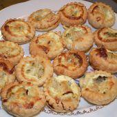 Minis Tartelettes aux cuisses de grenouilles - La popotte à lolo