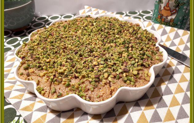 Basboussa Syrienne ou gâteau à la semoule