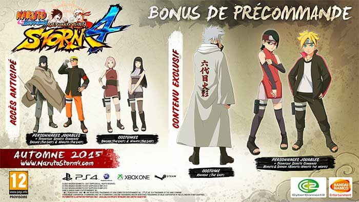 Naruto Shippuden Ultimate Ninja Storm 4 dispo !