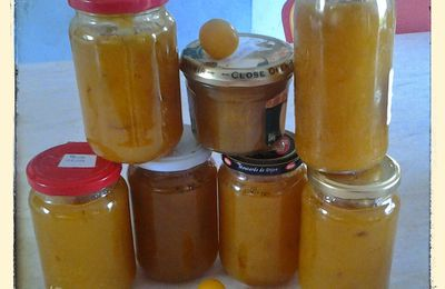 Confiture de prune jaune au thermomix