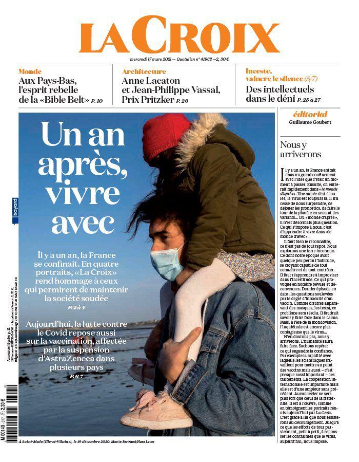 La UNE des quotidiens nationaux parus ce mercredi 17 mars.