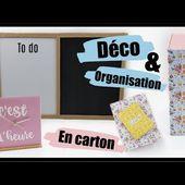 ORGANISE TOI AVEC DU CARTON IDÉES ET ASTUCES DÉCO ORGANISATION