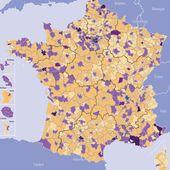 carte de france administratives - Chroniques Cartographiques